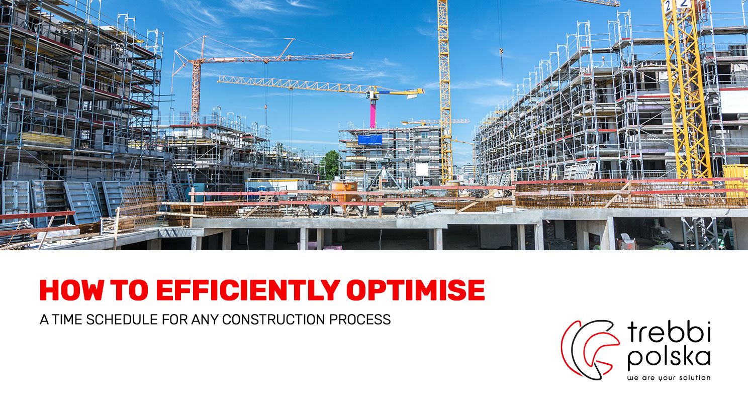 How to efficiently optimise a schedule for any construction process?
